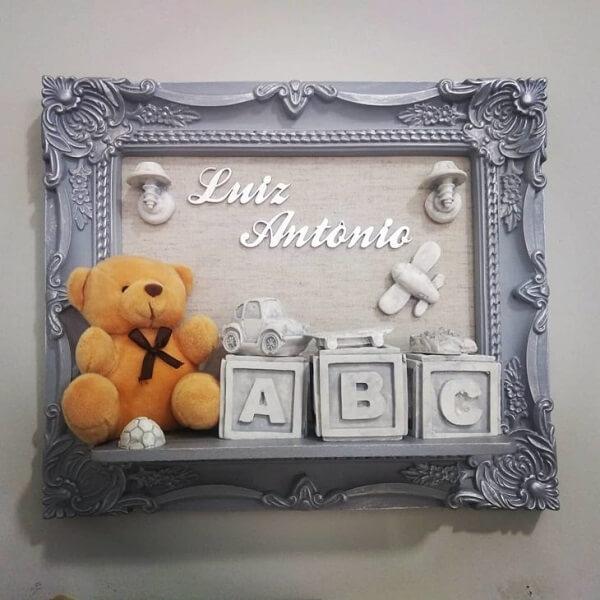 Modelo de quadro para quarto de bebê personalizado