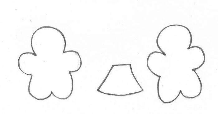 Moldes para fazer Enfeites de natal em EVA Foto de Painel Criativo