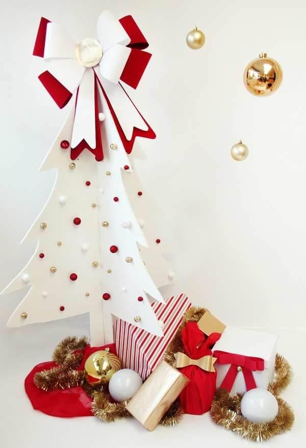 O EVA permite a criação de lindos arranjos natalinos