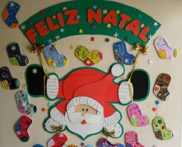 Painel de natal para parede