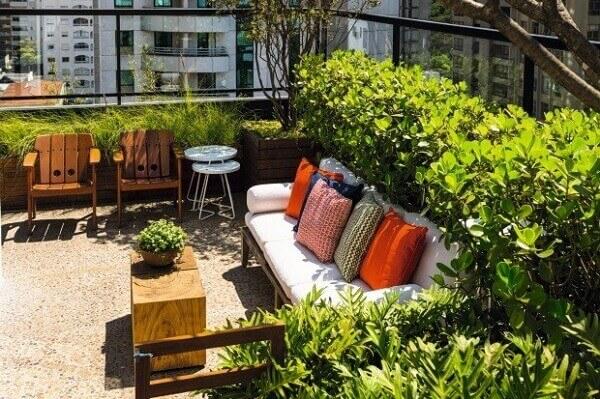 Plantas para jardim Clúsia para espaços externos
