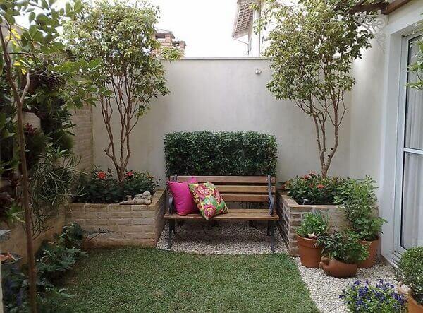 Plantas para jardim pequeno em casa