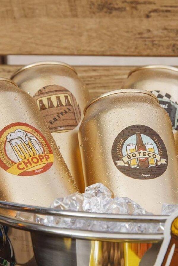 Procure deixar a cerveja sempre bem gelada