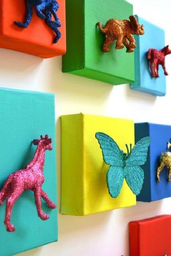 Quadro para quarto de bebê artesanal