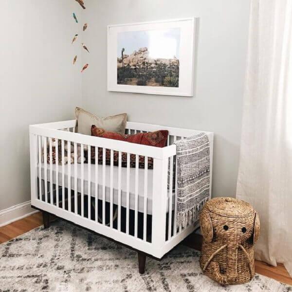 Quadro para quarto de bebê com foto