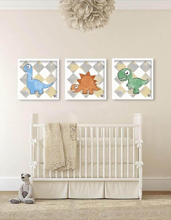 Quadro para quarto de bebê com temas infantis