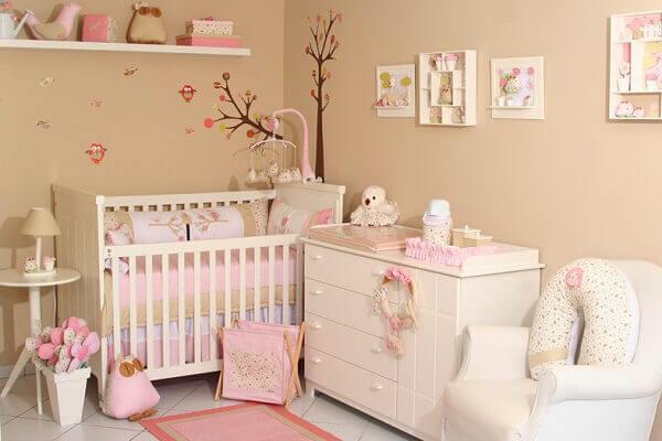 Quadro para quarto de bebê feminino