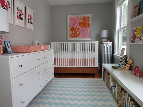 Quadro para quarto de bebê grande