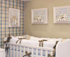 Quadro para quarto de bebê masculino