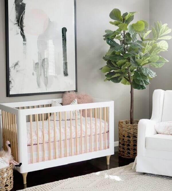 Quadro para quarto de bebê moderno