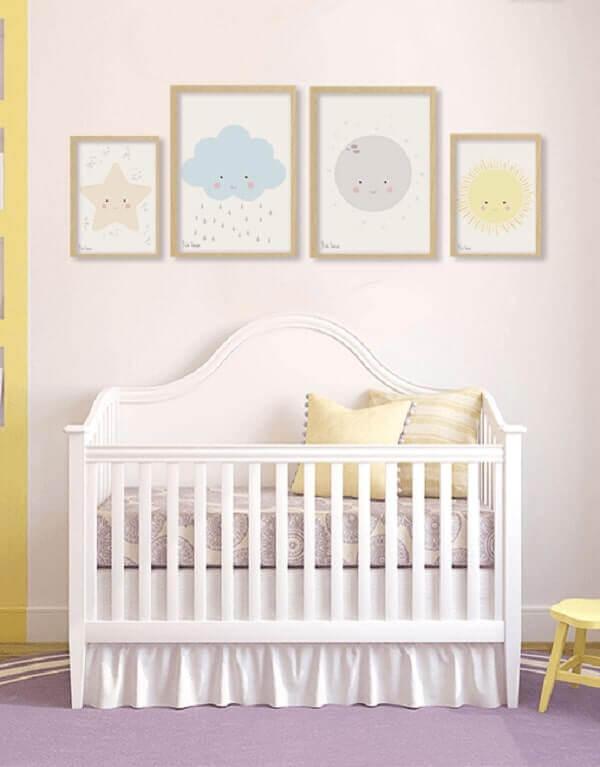 Quadro para quarto de bebê pequeno