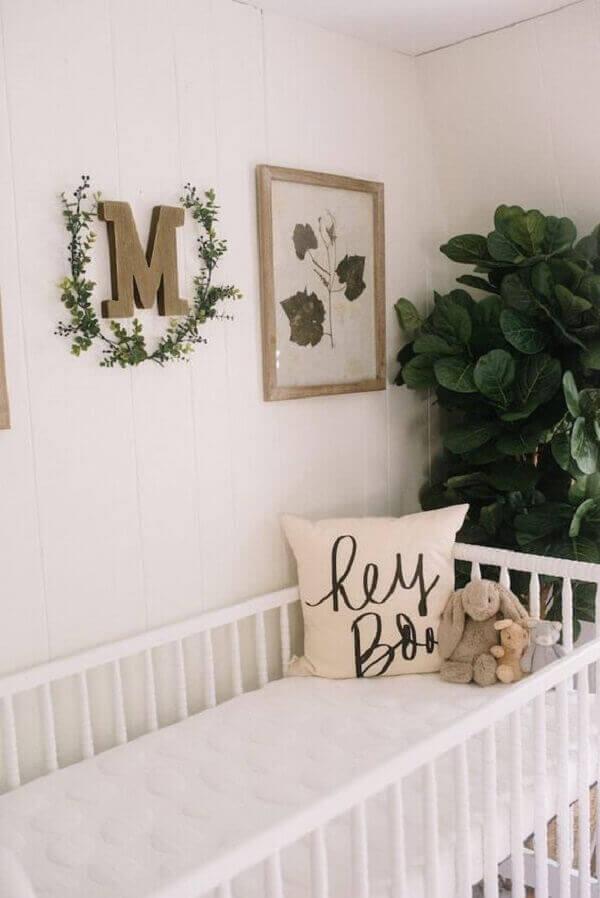 Quadro para quarto de bebê simples