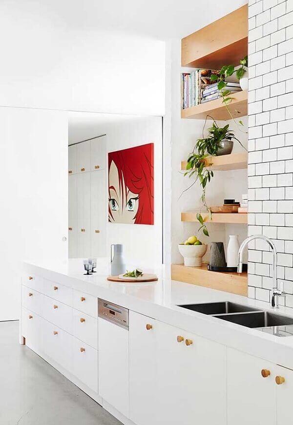 Quadros para cozinha clean e moderna
