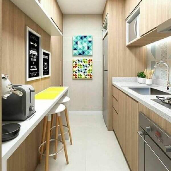 Quadros para cozinha em parede pequena
