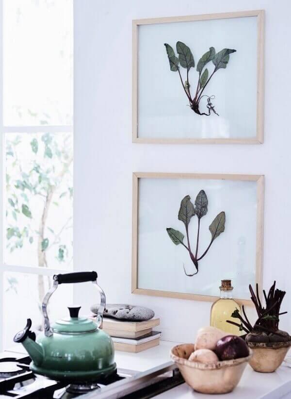 Quadros para cozinha imagens
