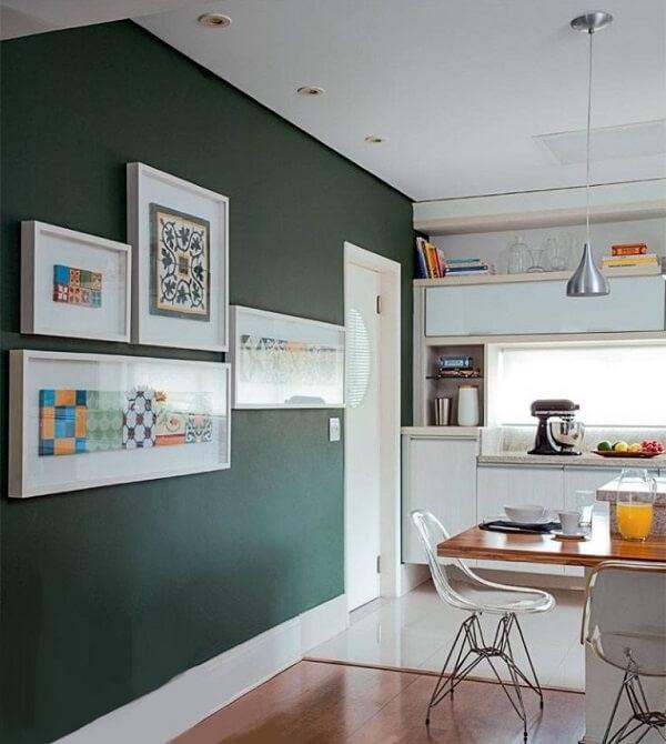 Quadros para cozinha integrada
