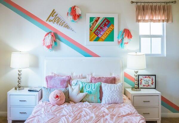 Quadros para quarto colorido