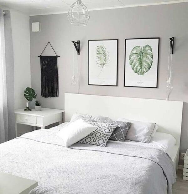 Quadros para quarto com tema de paisagismo