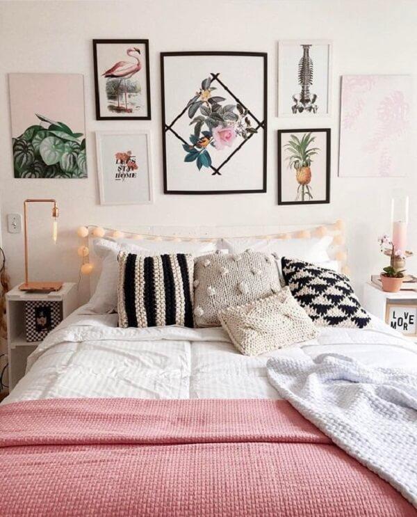 Quadros para quarto com temas variados