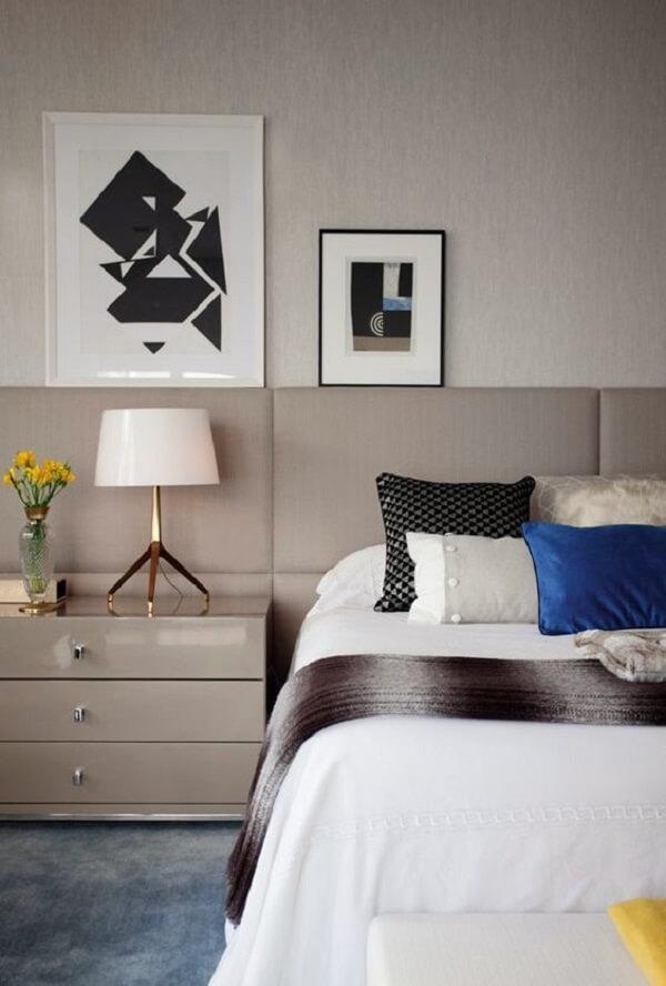 Quadros para quarto e solteiro decorado