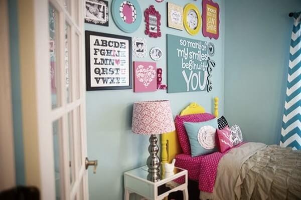 Quadros para quarto feminino