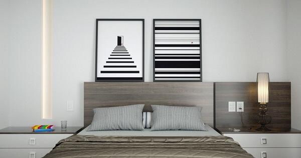 Quadros para quarto personalizado