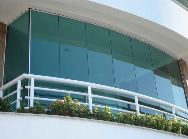 Sacada de vidro segura