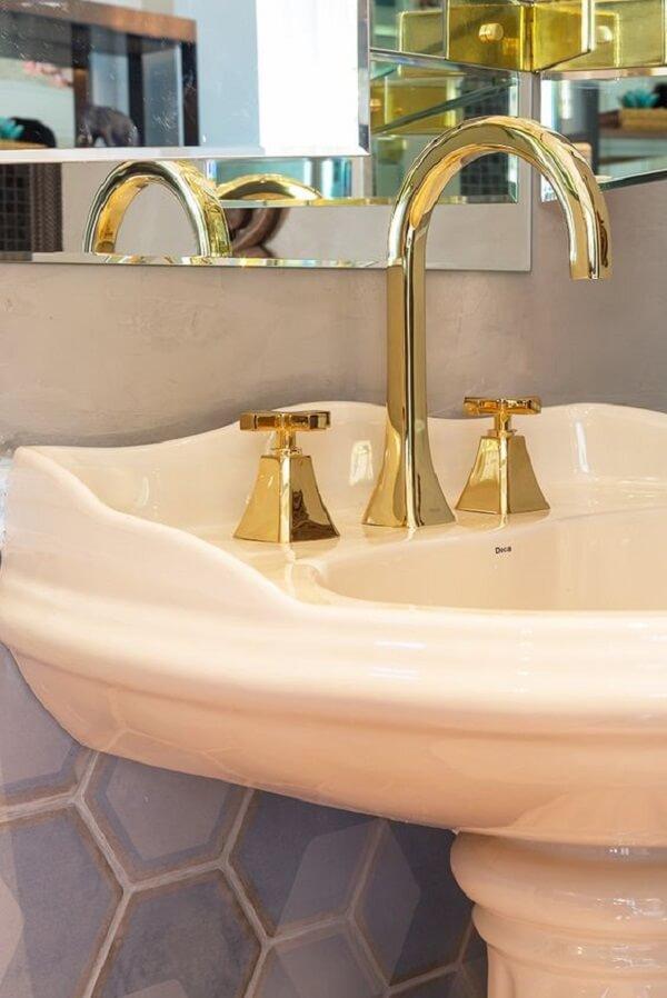 Torneira para cuba de banheiro simples