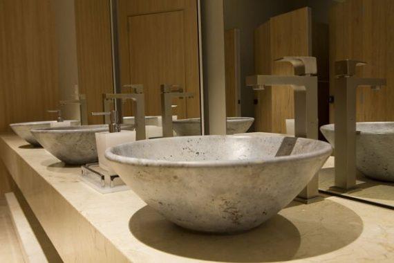 Torneira para pia de banheira baixa