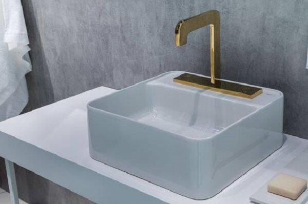Torneira para pia de banheiro linha click deca
