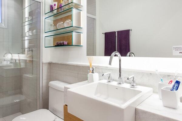 Torneira para pia de banheiro tipo misturador