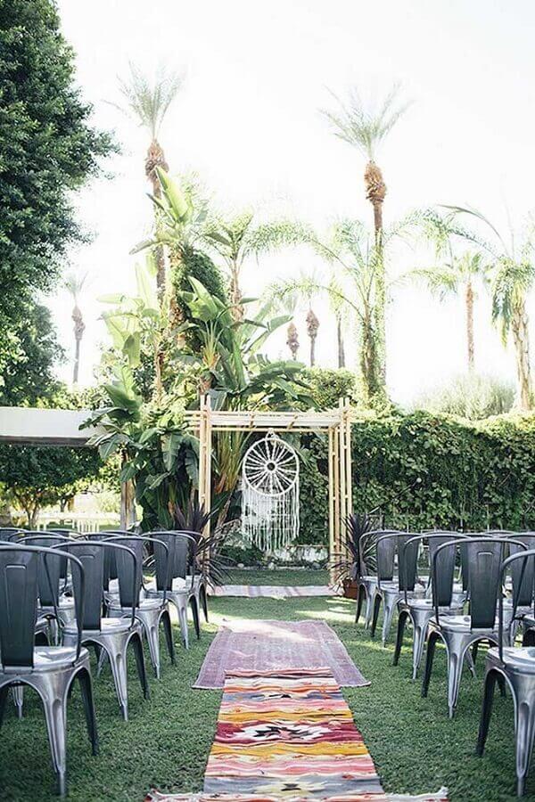 casamento decorado com filtro dos sonhos branco Foto Marbella Marriages