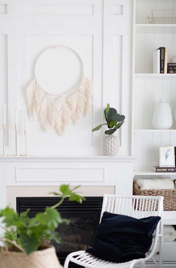 decoração clean com filtro dos sonhos Foto Pinterest