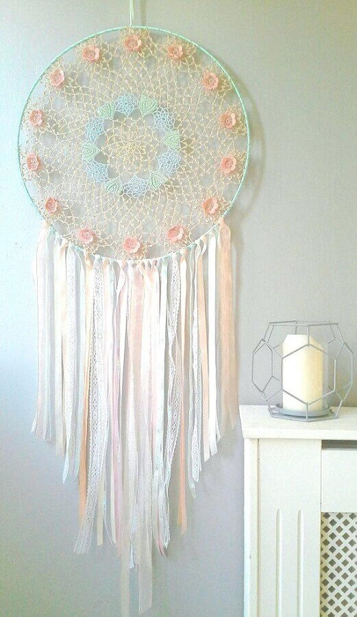 decoração em tons pasteis com filtro dos sonhos Foto Pinterest
