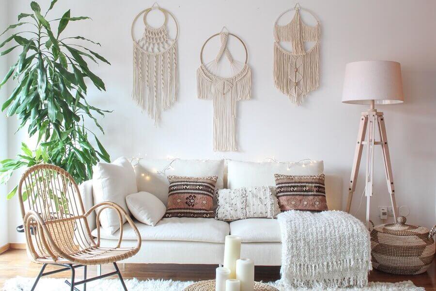 decoração estilo escandinava para sala com filtros dos sonhos Foto Dekor Cadisi