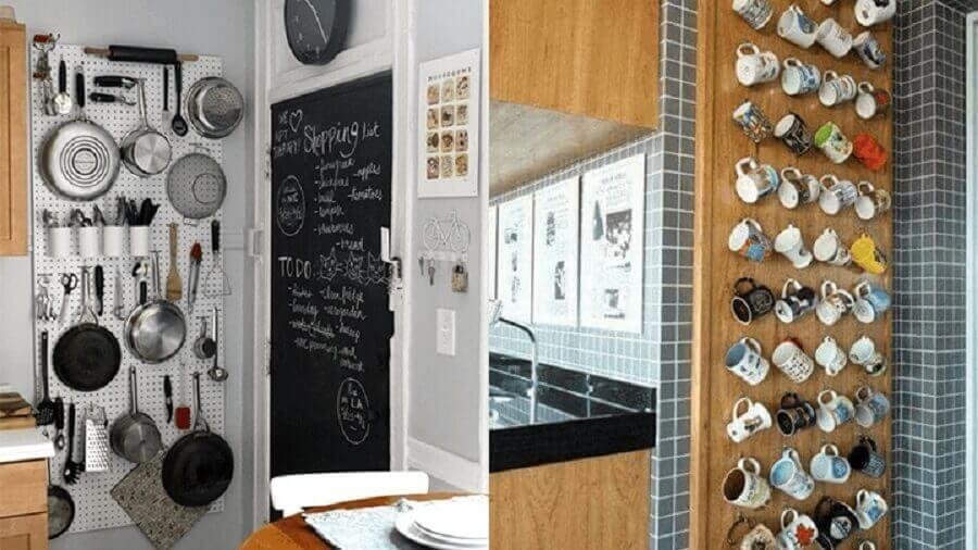 decoração simples para cozinha