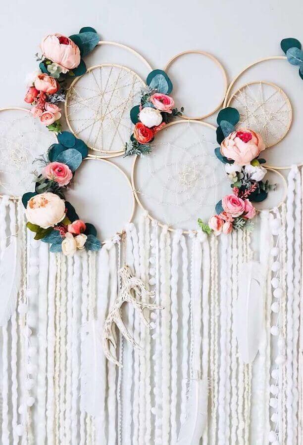 cc37ca23be filtro dos sonhos decorado com rosas para festa de casamento Foto FirePont