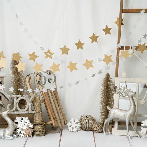 Painel de natal decorado
