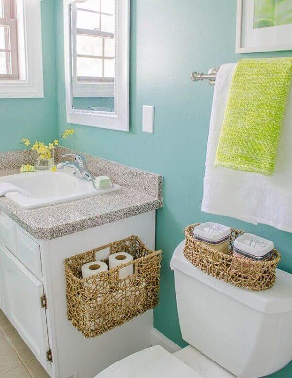 Como arrumar banheiro de casa
