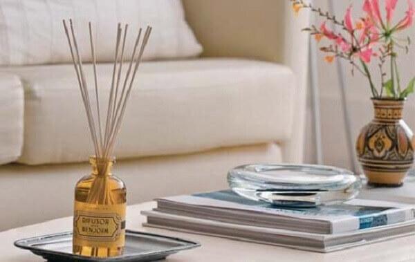 Arrumar casa com aromatizadores de ambientes