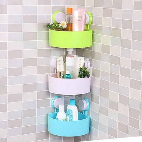 Como organizar a casa com cestos de parede no banheiro Foto de Alibaba