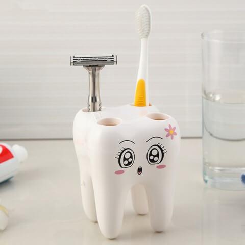 Como organizar a casa com porta-escovas de dente Foto de Amazon