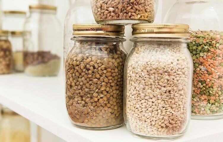 Como organizar a casa com potes de vidro Projeto de Blog Dicor