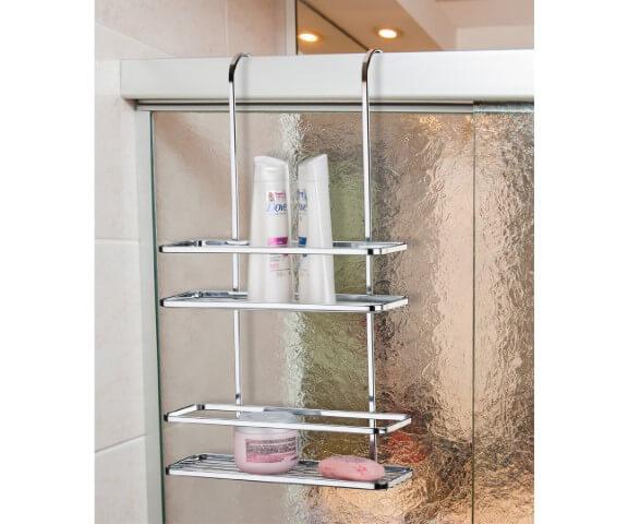 Como organizar a casa usando box dentro do banheiro Foto de Ordenato