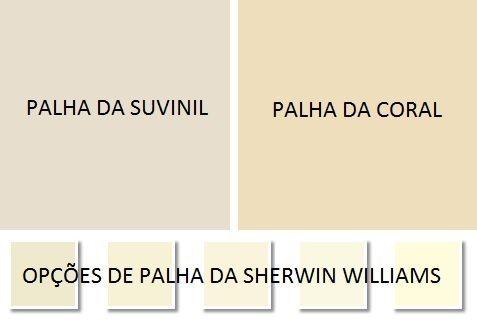 Cor de tinta palha para parede de marcas diferentes Foto de Dicas de Arquitetura