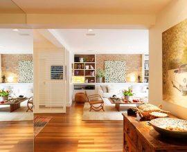 Espelhos em apartamento