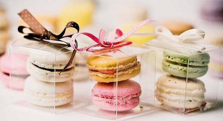 Macarons como lembrancinhas de casamento Foto de Wonder Wed