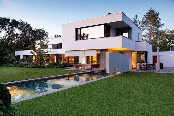 Platibanda  casa luxuosa