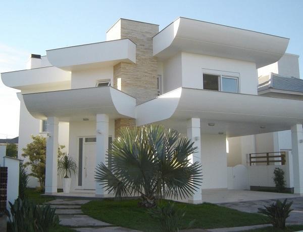 Platibanda decora fachada de casa