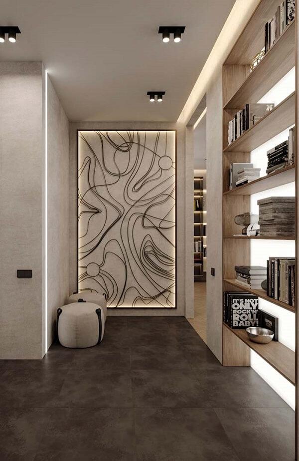 Projetos modernos combinam muito bem com forro de gesso